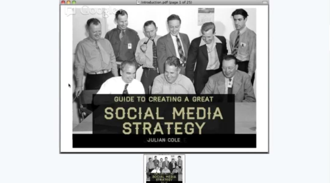 Create A Great Social Media Strategy