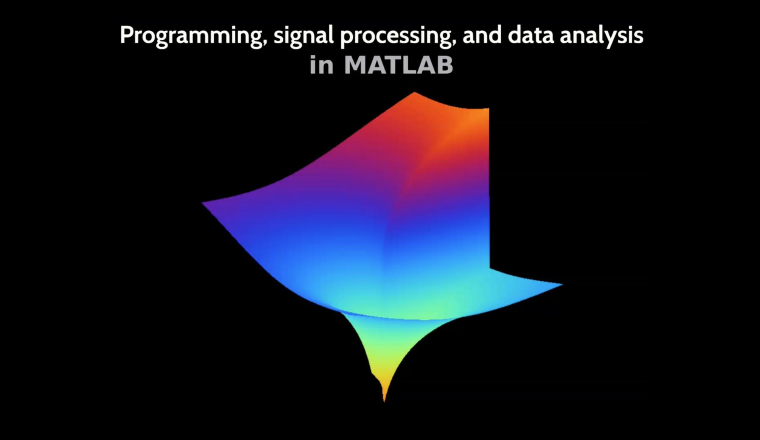 MATLAB: Introduction, desktop, and variables