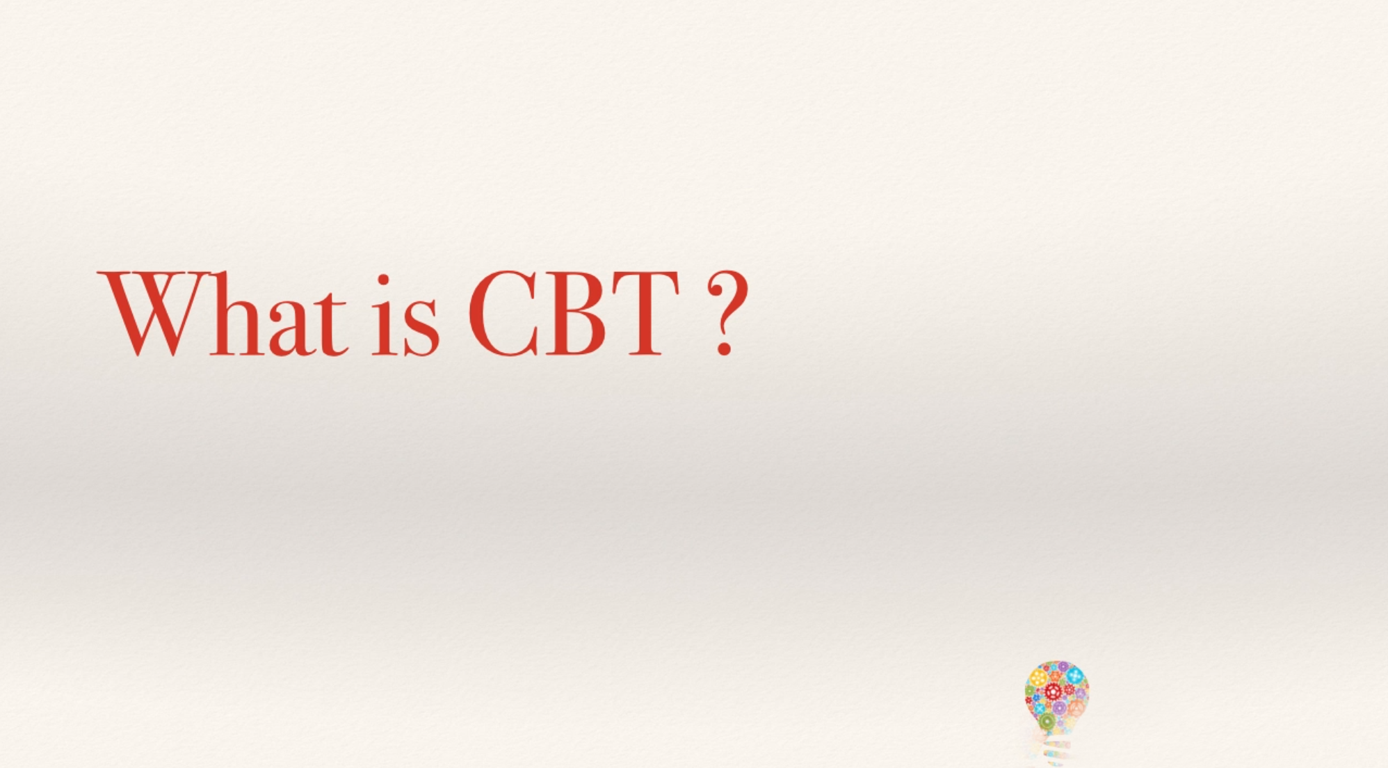 CBT Therapy: Online Counselling & Cognitive Behavioural Therapy (CBT) Training Course