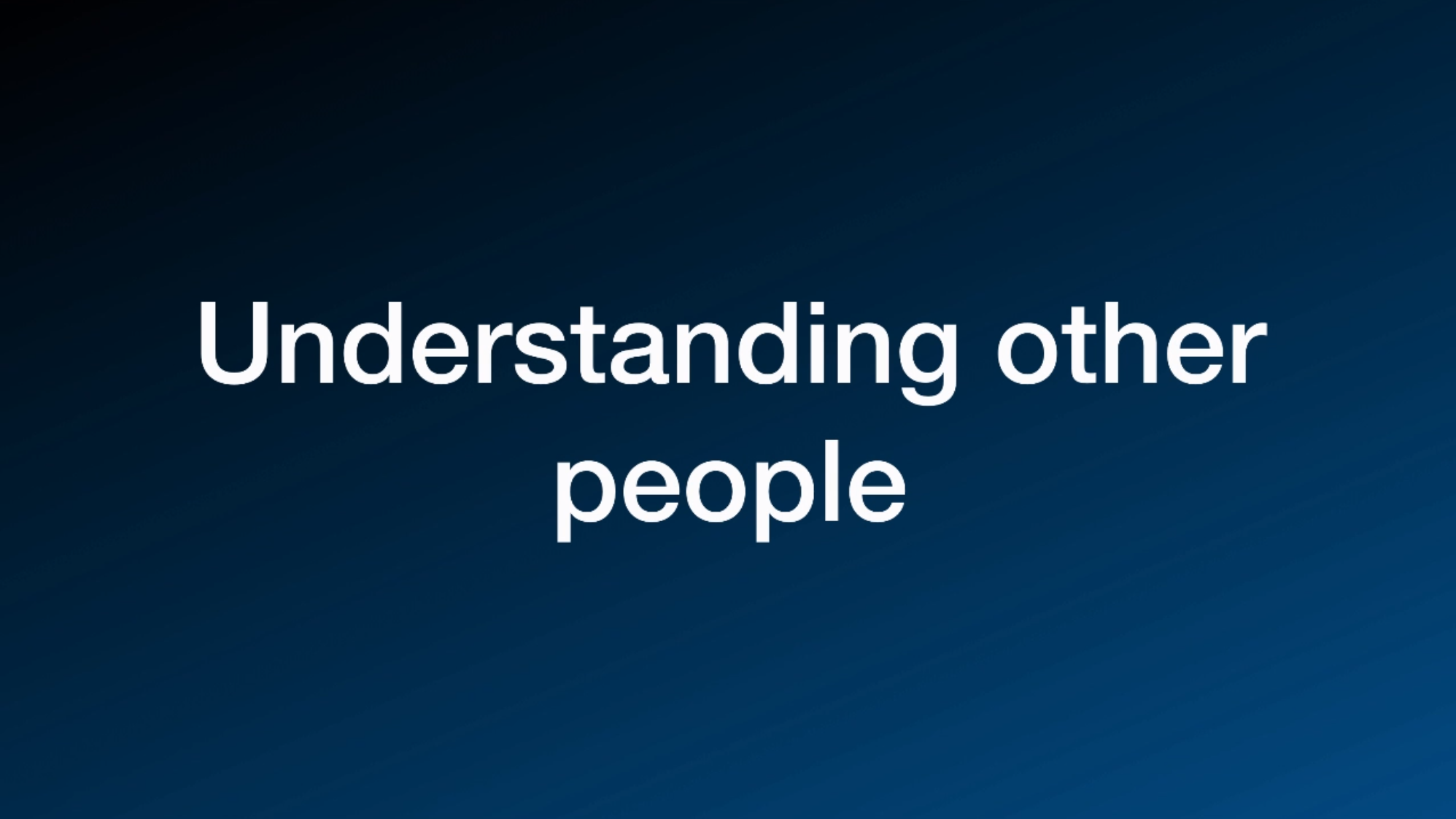 People Psychology: A Short Guide to Understanding People