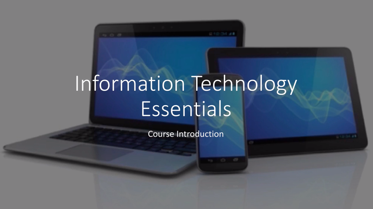 Information Technology Essentials