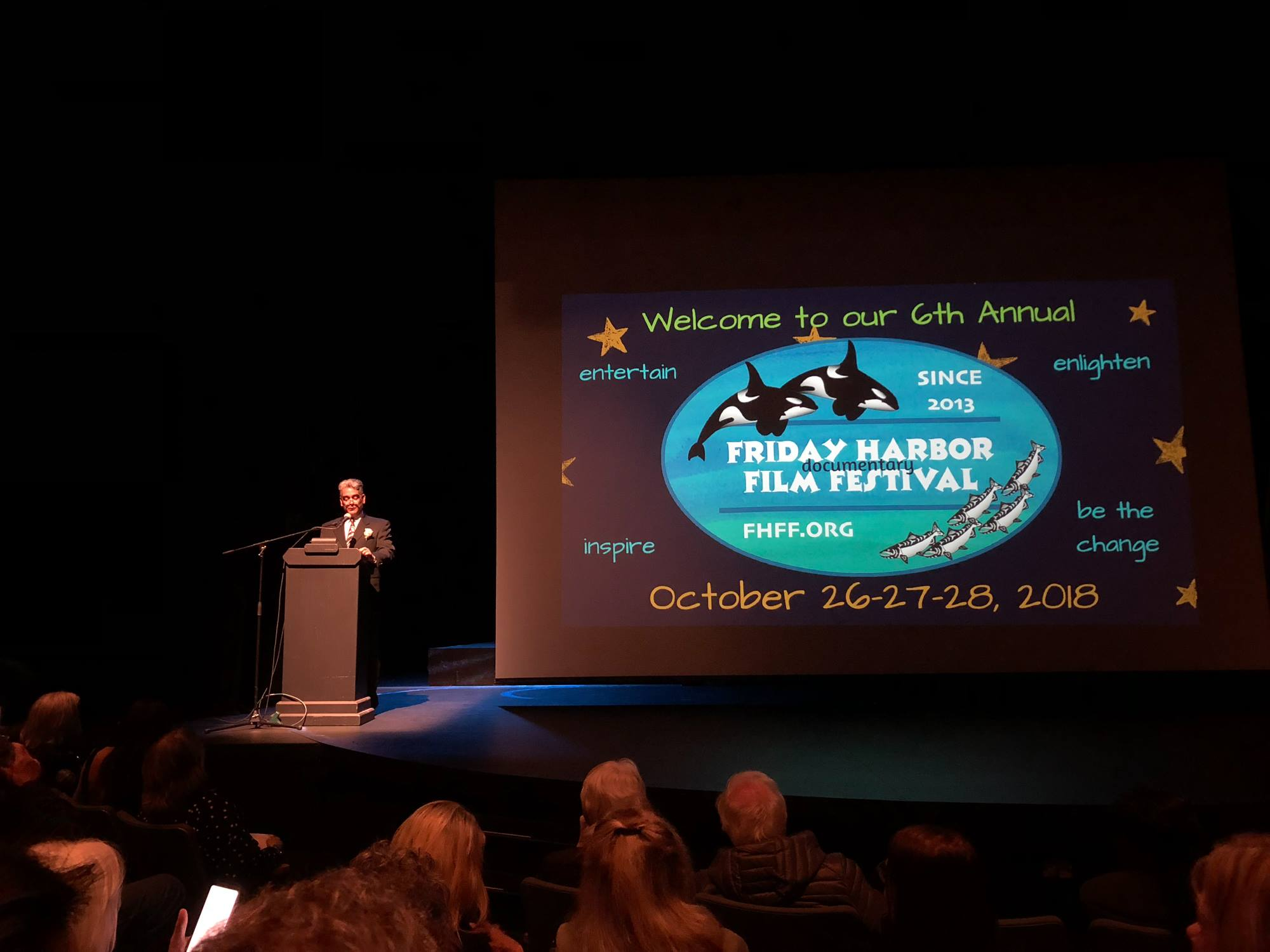 Friday Harbor Film Festival, Opening Night!