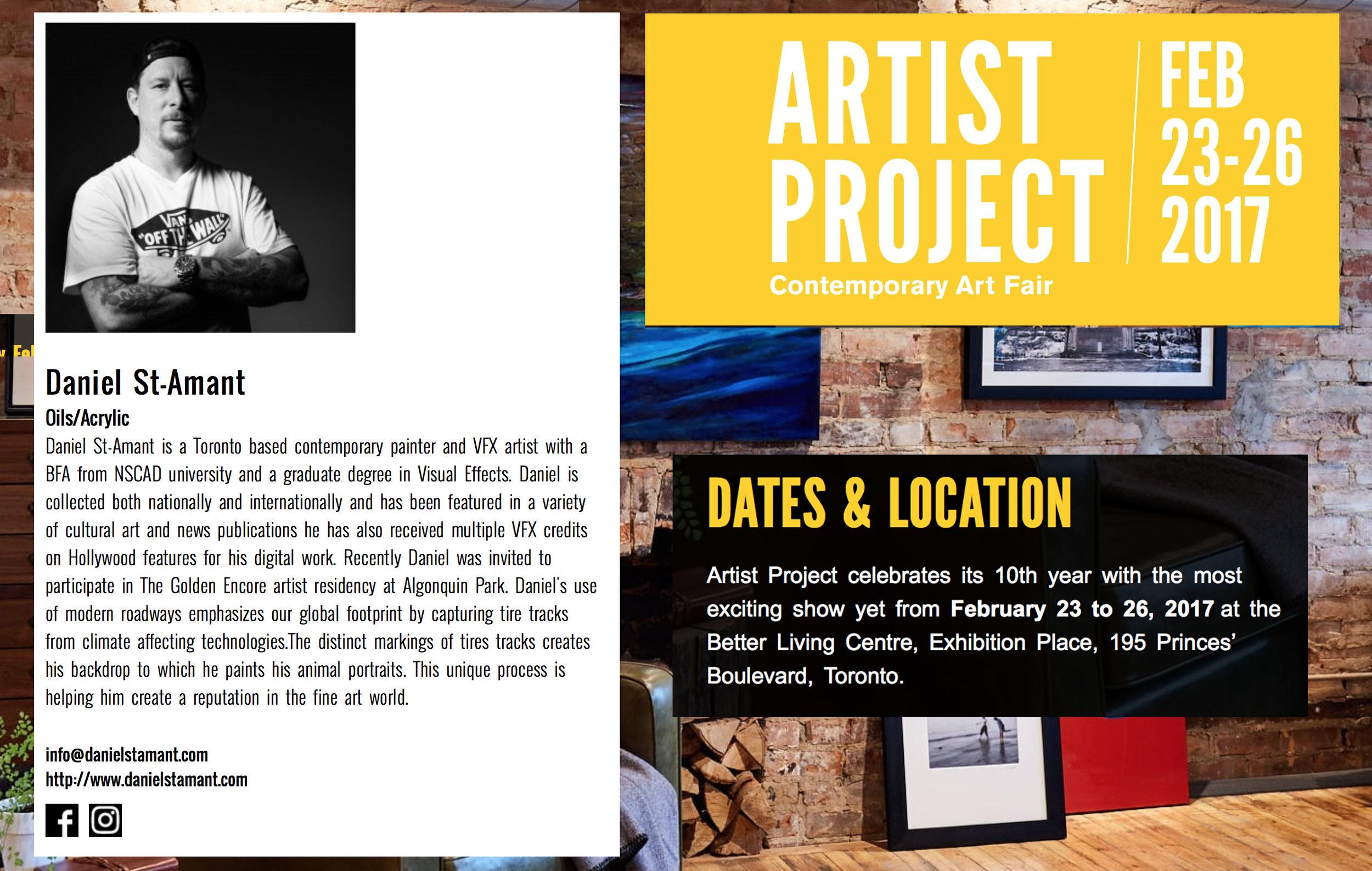 Artist Project 2017 Promo