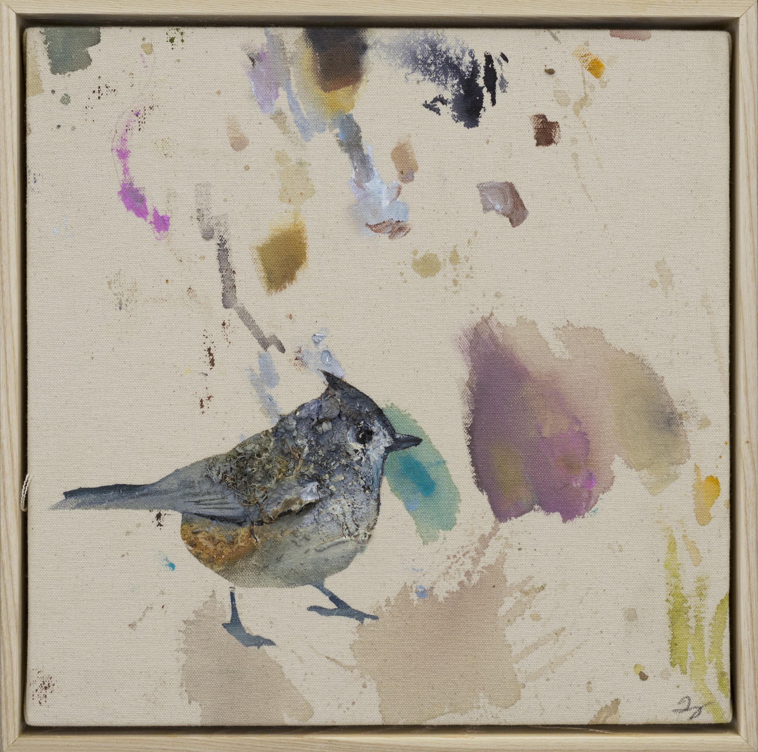 Drop cloth bird # 18
