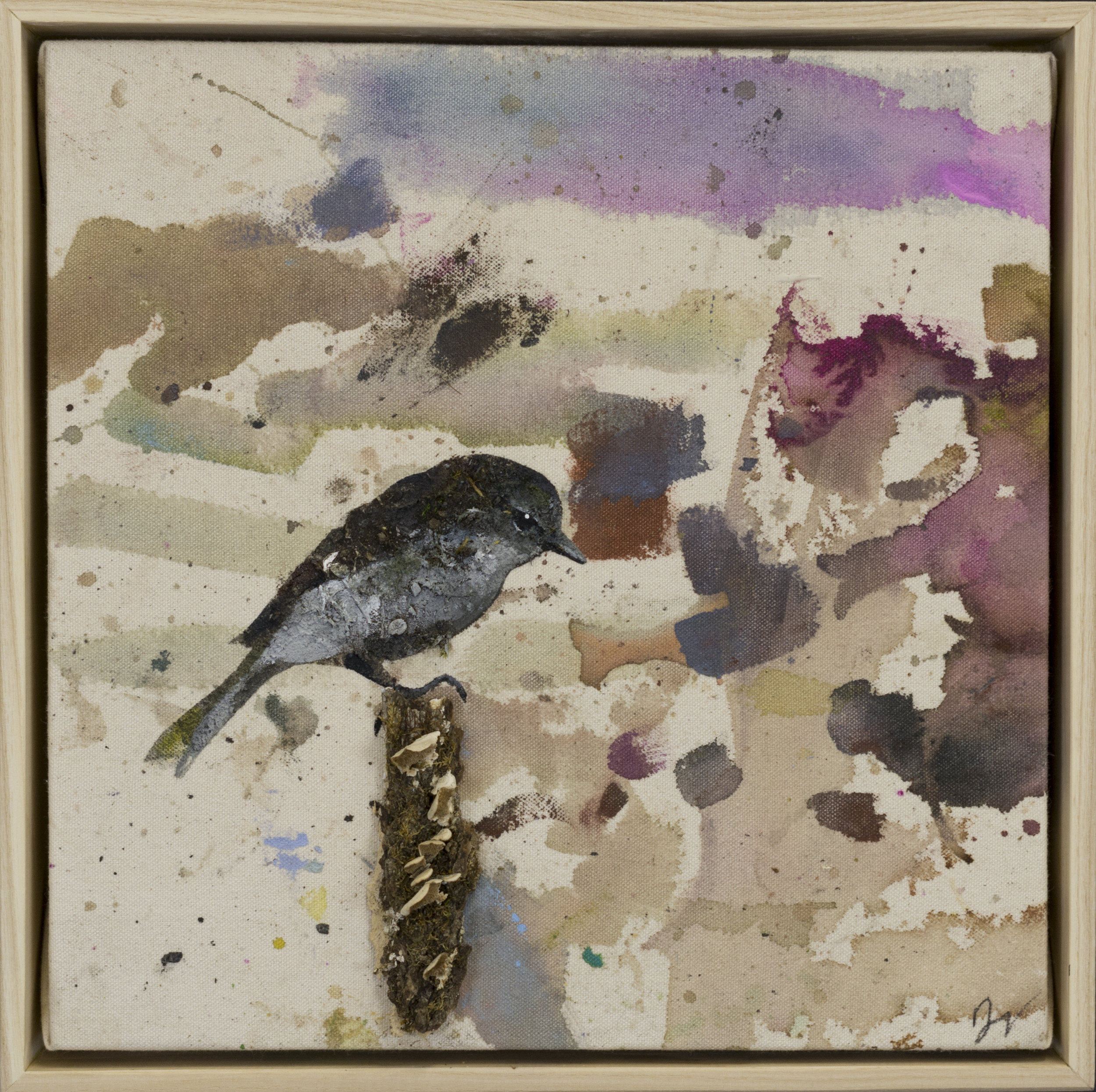 Drop cloth bird # 20
