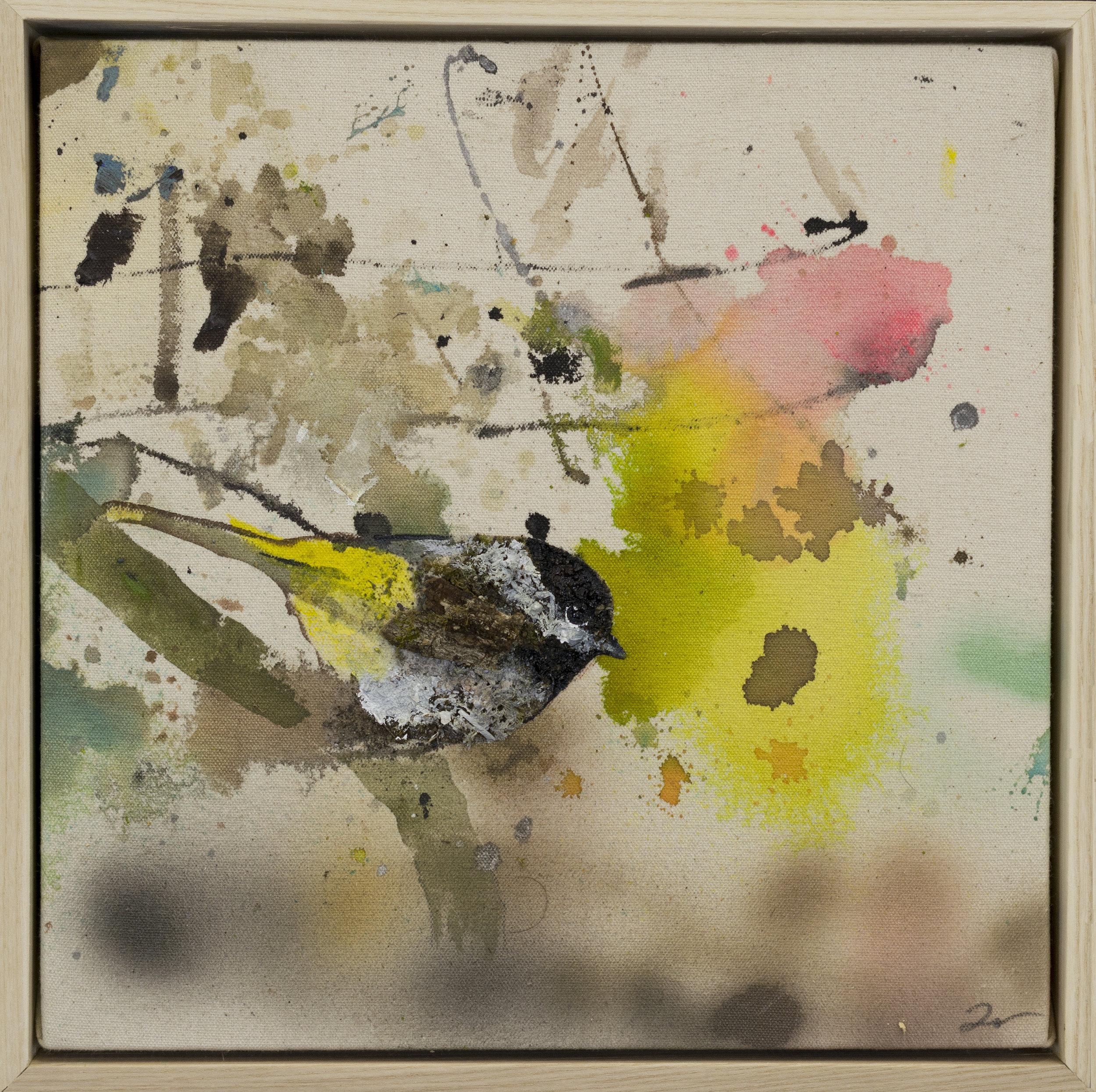 Drop cloth bird # 27