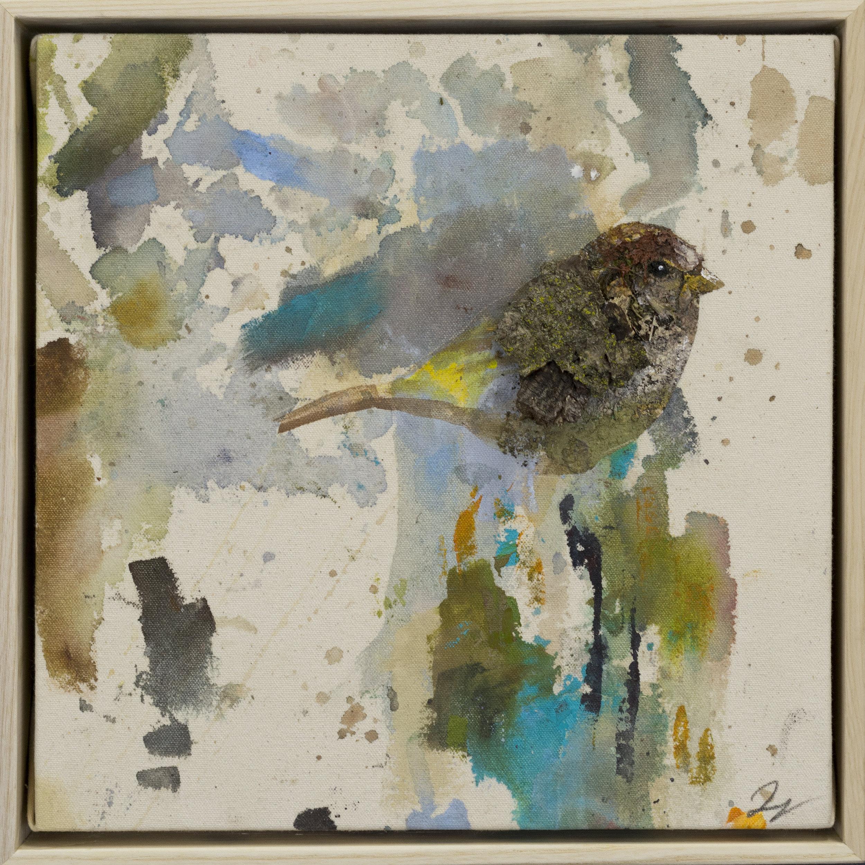 Drop cloth bird # 36