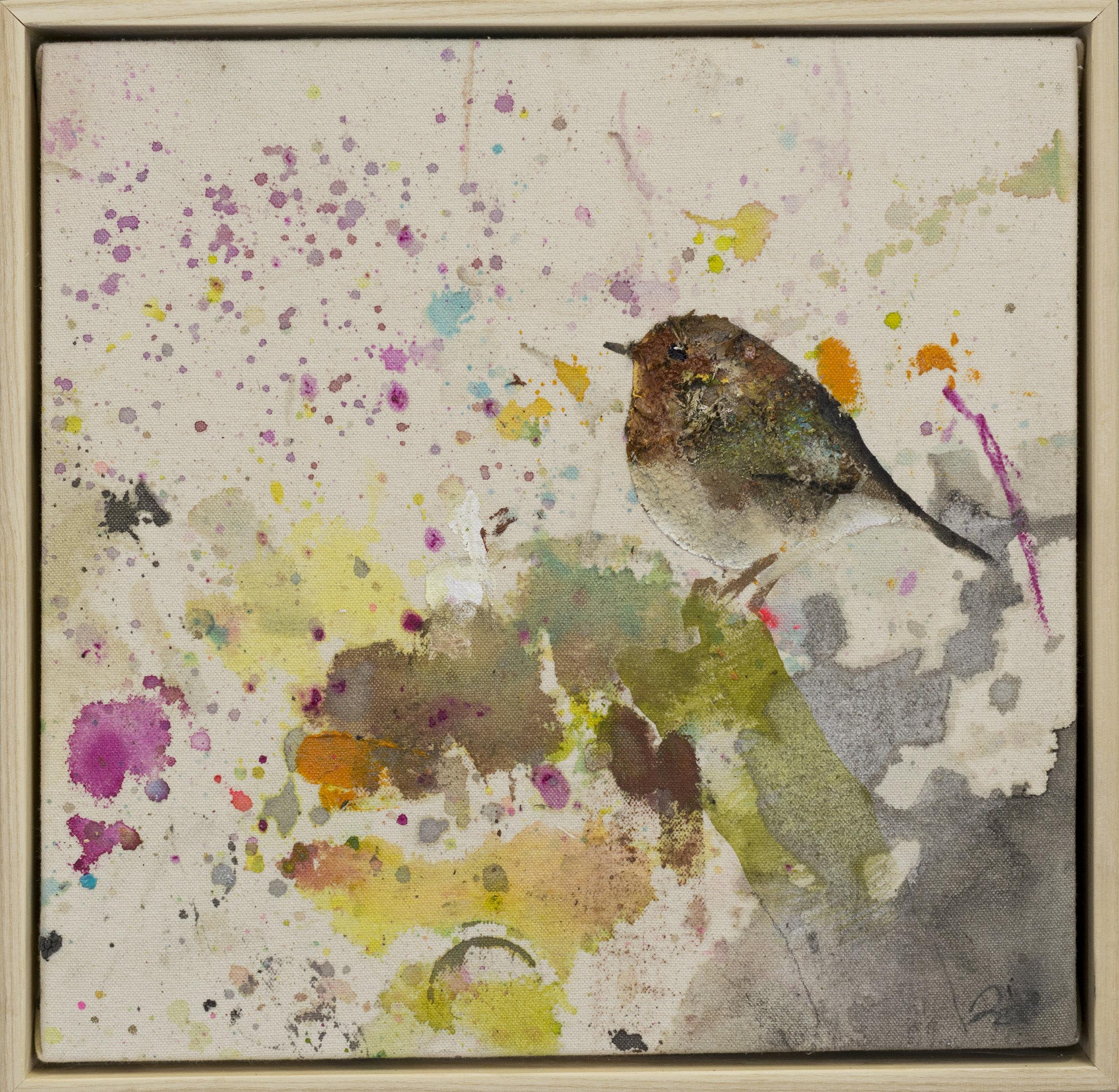 Drop cloth bird # 37