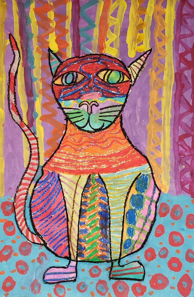 Patterned Cat 124.jpg