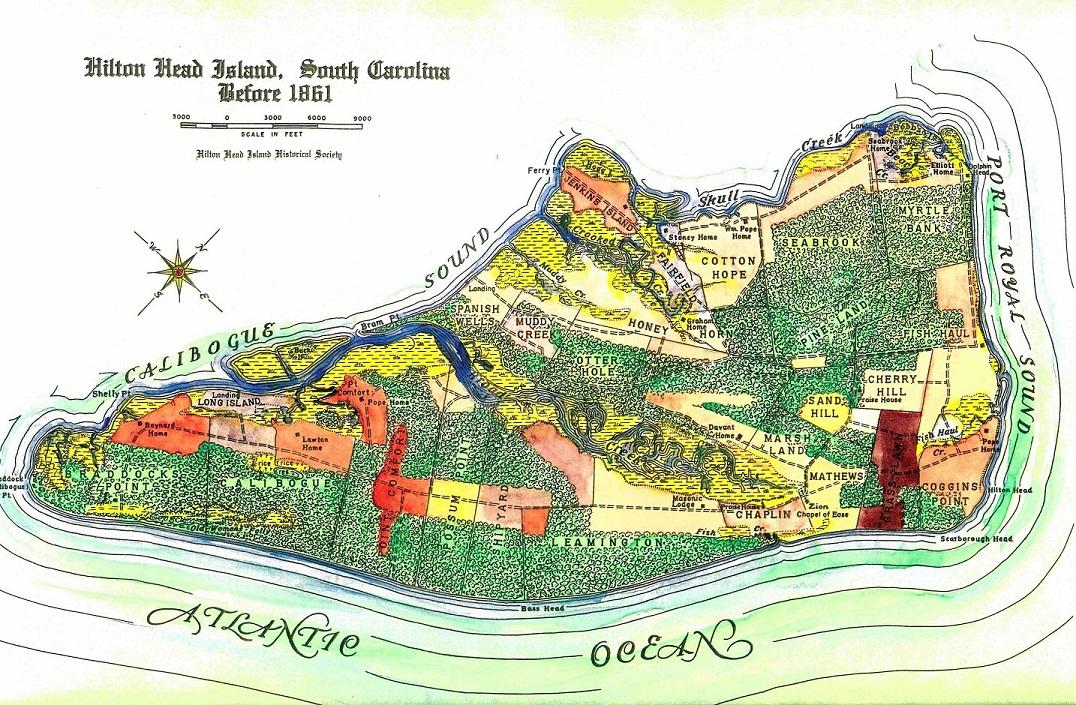 Hack, Hilton Head Island Before 1861