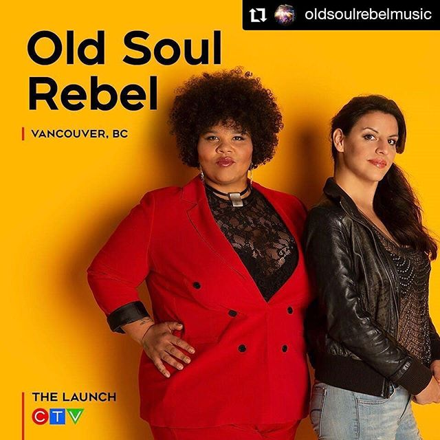 We want to send out a huge CONGRATULATIONS and GOOD LUCK to our friends @oldsoulrebelmusic for making it on season 2 of @thelaunchctv! We will be throwing a viewing party when your episode airs! #queens #womeninmusic #oldsoulrebel #slay #allthelove  #Repost @oldsoulrebelmusic • • • We cant hold it in any longer- Hey Canada, GUESS WHAT!! Old Soul Rebel is super happy to announce that we will be on Seasons 2 of @thelaunchctv on @ctv 🤘🏾🎶🤘🏾 It was such an incredible experience that we can't wait to share it all with you!  Our mentors were the unbelievable Jon Levine @jontherabbi  of the Philosopher Kings, Max Kerman of the @arkellsmusic and Montreals very own Marie Mai @mariemaireal ❤️ Not to mention what an honour it was to work with Scott Borchetta!  The whole thing was such a Dream!  Airing Prime time, across Canada, Feb 13th at 8pm ET/PT.  Please follow us or @thelaunchctv and @ctv_pr for more info.  The other artists on the episode are 😆💥mind blowing! Check em out: @charliethekidmusic @james__clayton @polinagrace and @saveriamusic  #webe #inthemix #itstvbaby #herewecome #soul #rocknroll #osr #season2launch