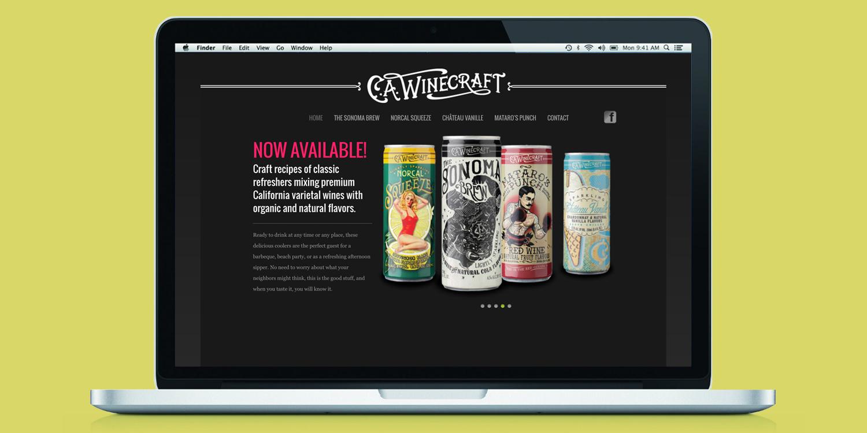 CA Winecraft  Client: Truett Hurst Inc.  Scope: Website, POS, Marketing Materials  Visit:  http://www.cawinecraft.com