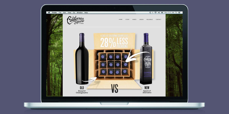 California Square   Client: Truett Hurst Inc.  Scope: Website, POS, Marketing Materials  Visit:  http://www.casquarewines.com