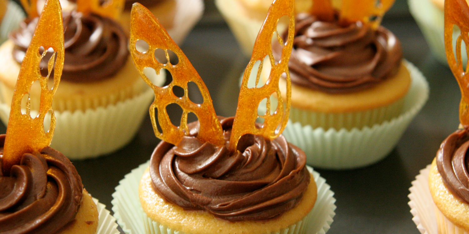 Cupcakes   Title:  Butterfly Wings  Medium:  Lots of Sugar  Year:  2008