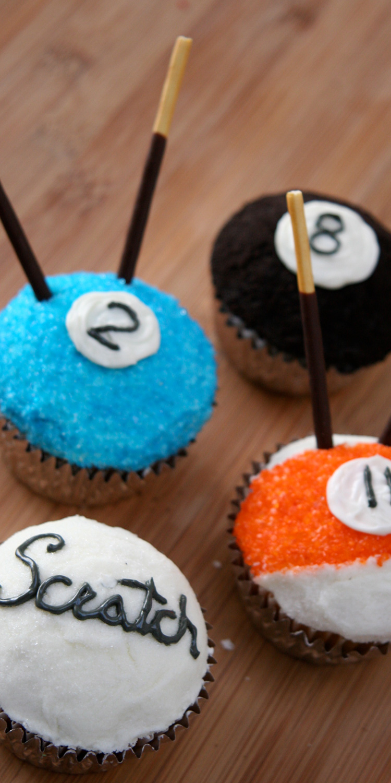 Cupcakes   Title: Pocket Billiards  Medium: Lots of Sugar  Year: 2008