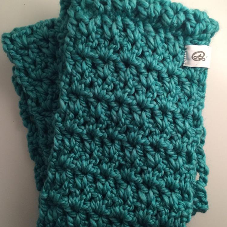 Crochet Scarf   Title:  N/A  Medium: Chunky Yarn  Year: 2015