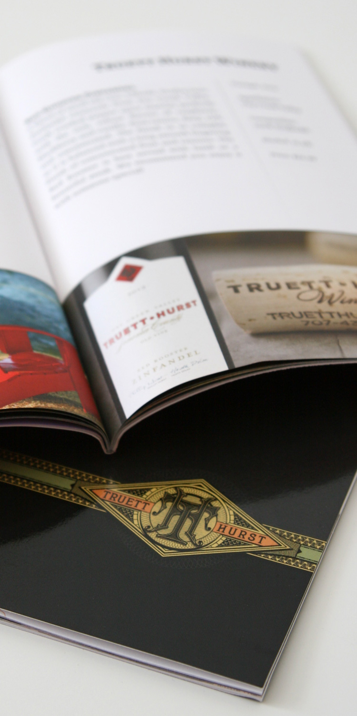 Truett Hurst   Client: Truett Hurst Inc.  Scope: Various corporate and informational design  Visit:  http://www.truetthurstinc.com