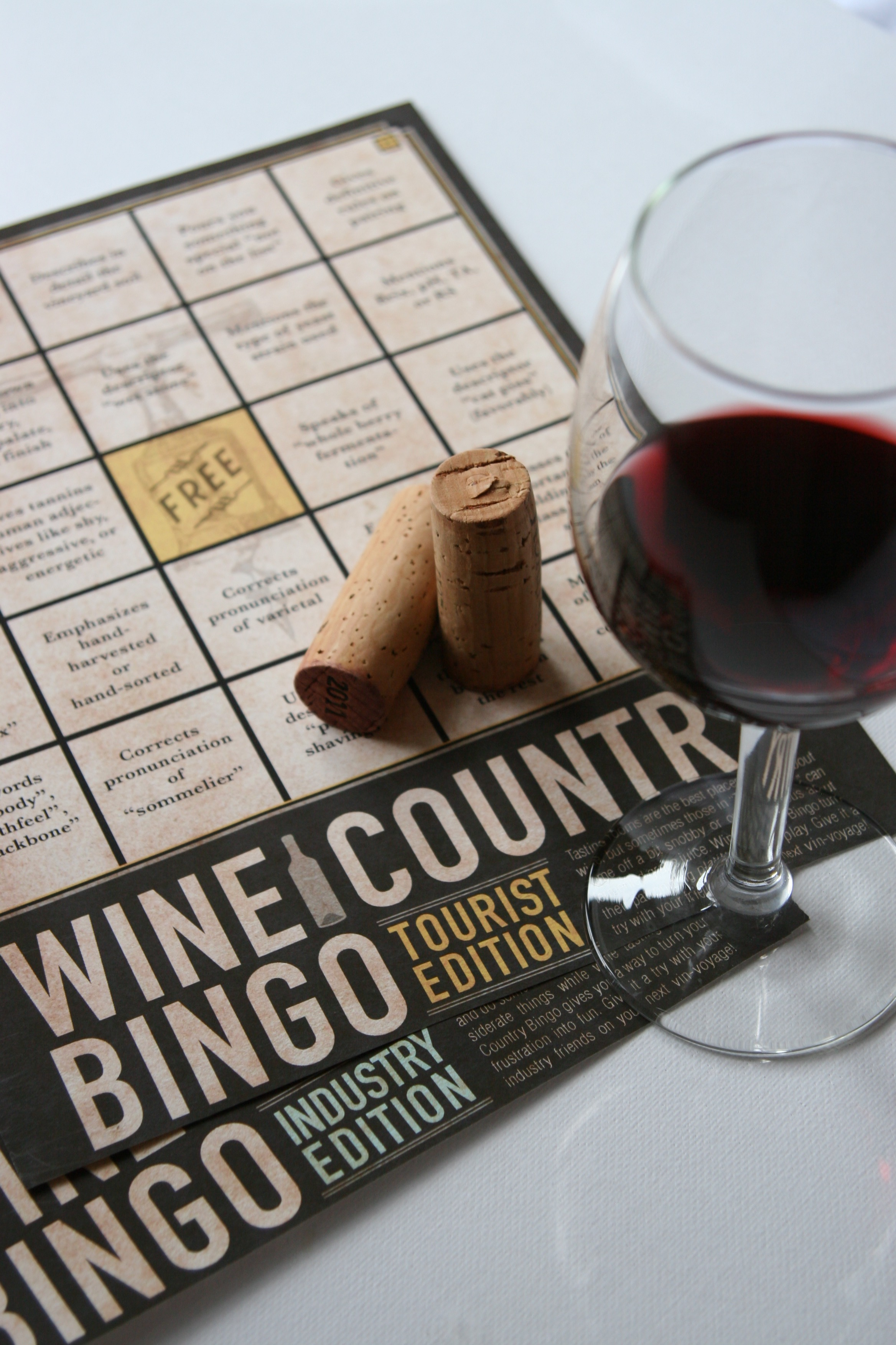 Wine Country Bingo by RLOCreative | www.rlocreative.com