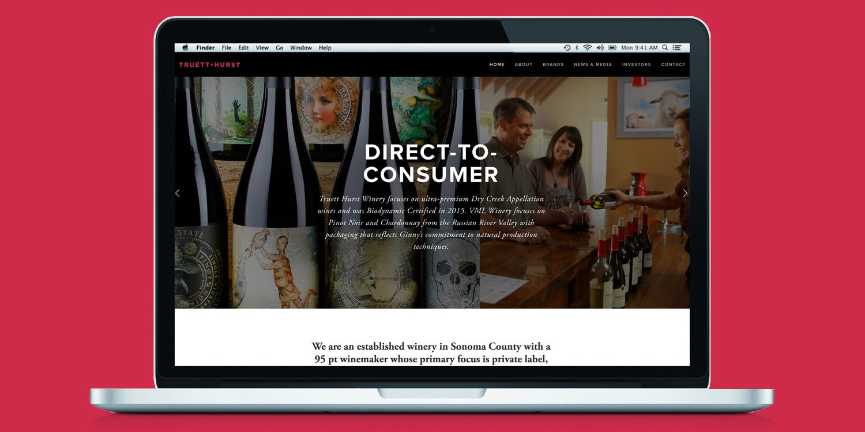 Truett Hurst Inc.   Client: Truett Hurst Inc.  Scope: Website  Visit:  http://www.t  ruetthurstinc.com