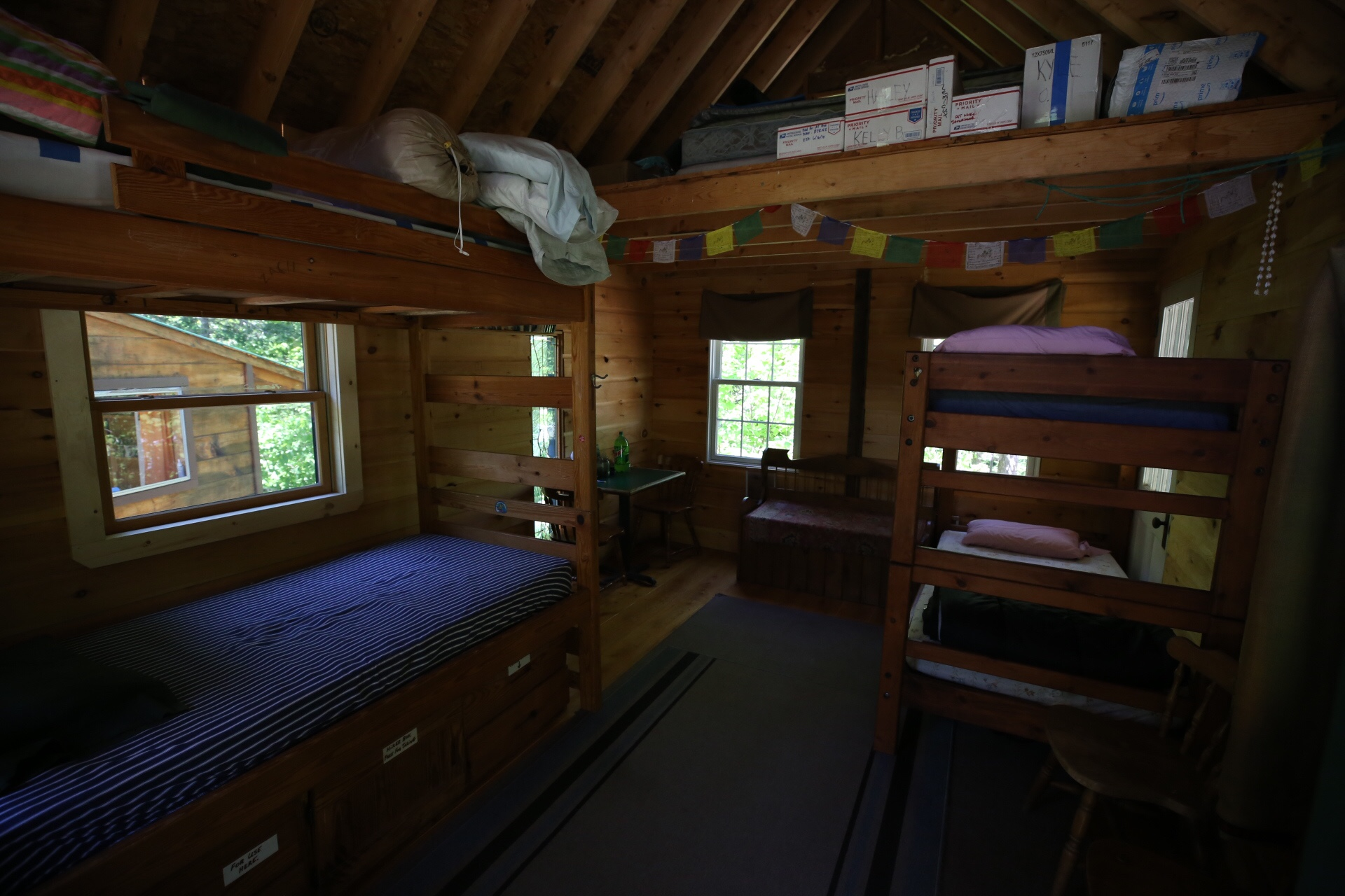 Bunkhouse at The Hiker Hut