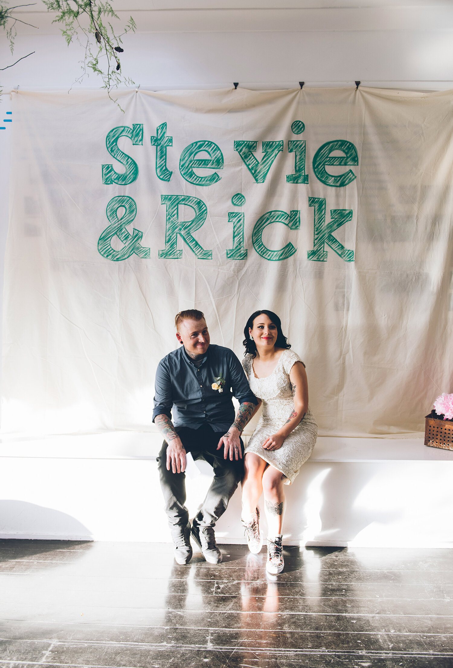 - Stevie + RickI am so happy that we decided to go with Eliza to photograph our wedding day. Her style was exactly what we were looking for and we couldn't be happier with the images that we got back. She was very professional, while still being easy going and made us feel completely relaxed in front of the camera. Would happily recommend this photographer to any of my family and friends.