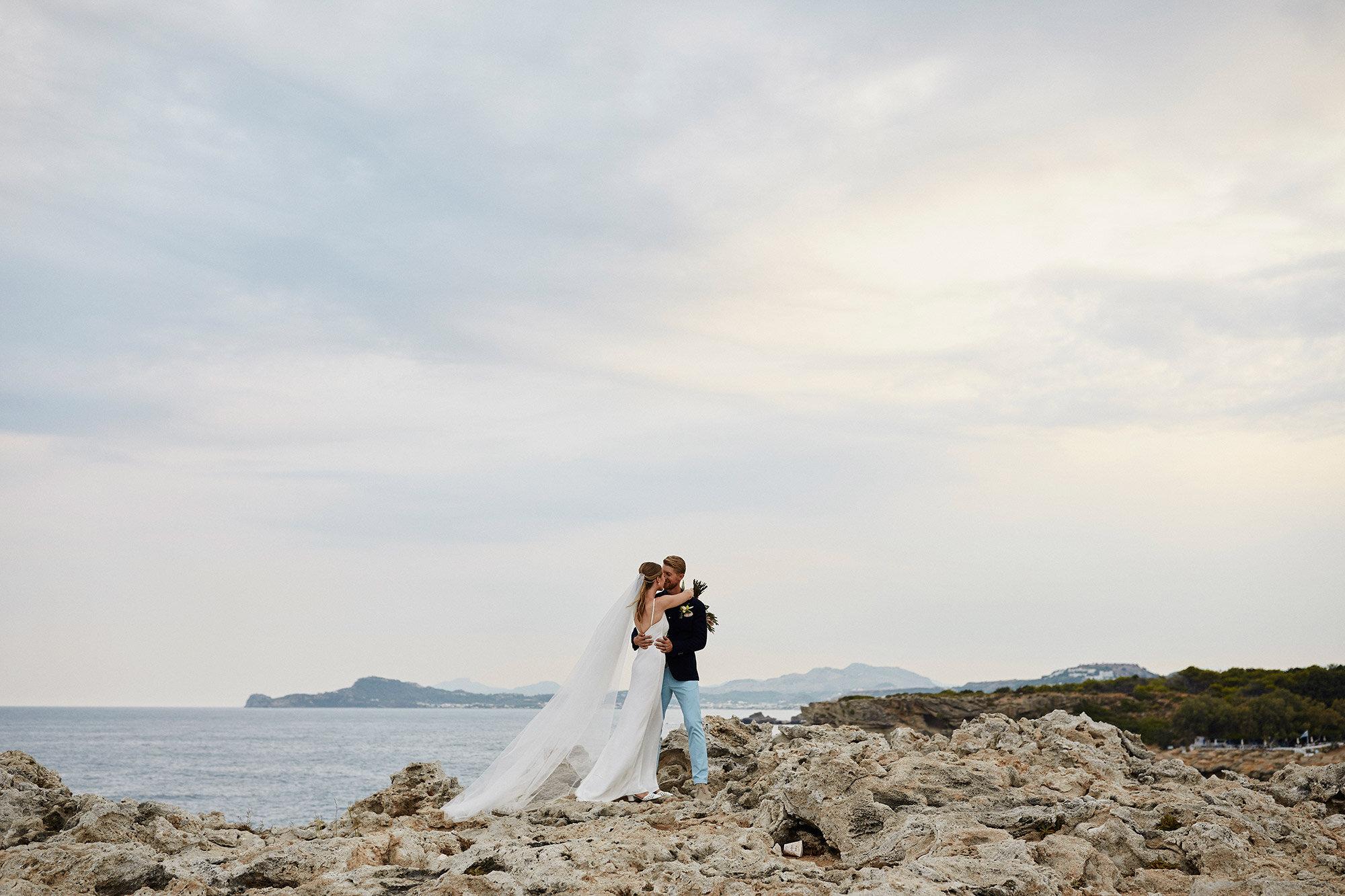 NATASHA + RILEY  RHODES, GREECE
