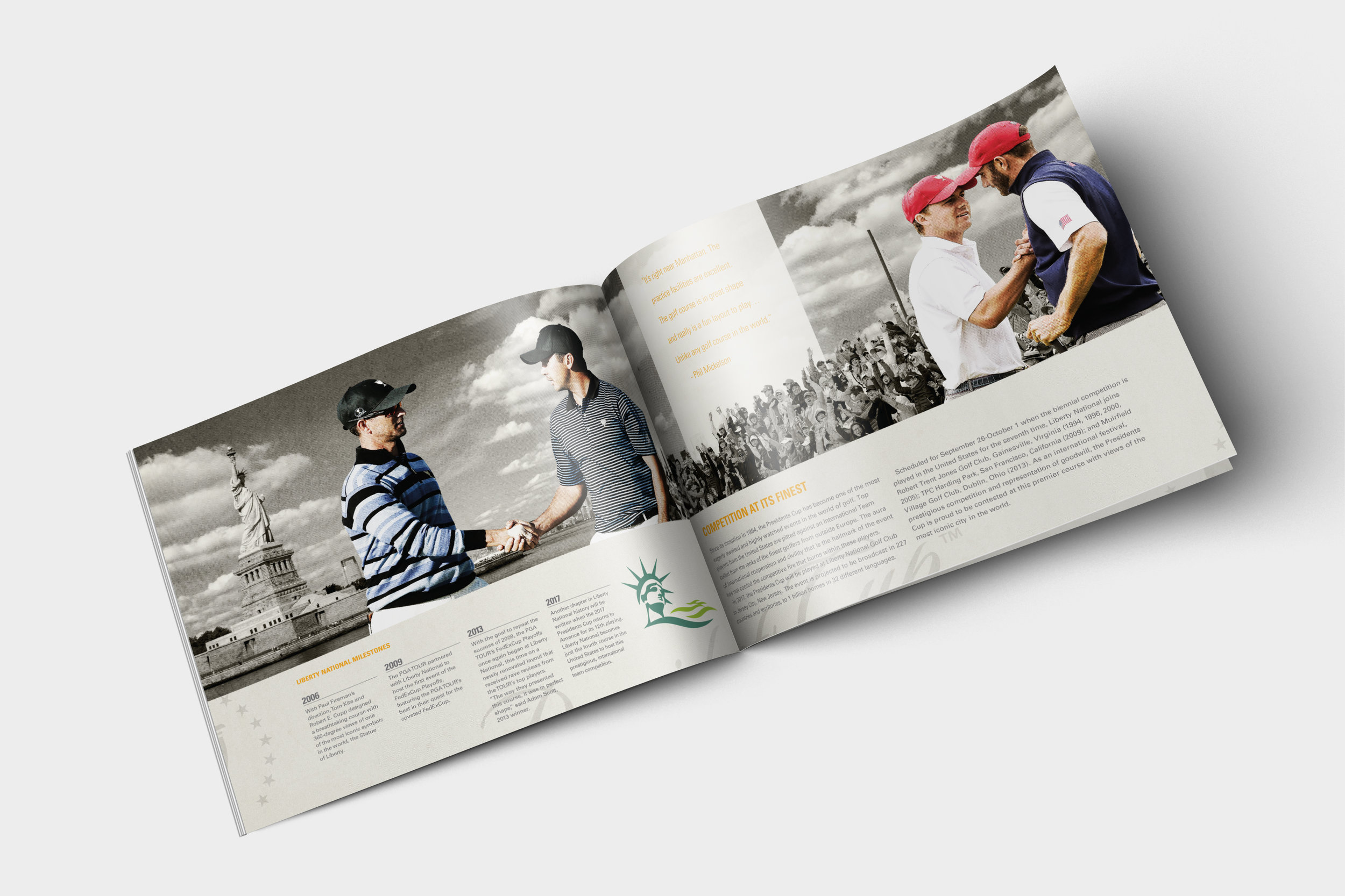 PRESIDENTS CUP BROCHURE