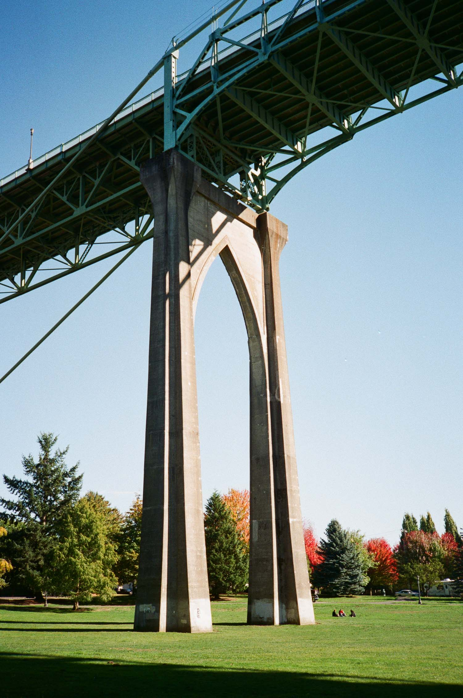 Photo of St. Johns Bridge in Portland, OR.