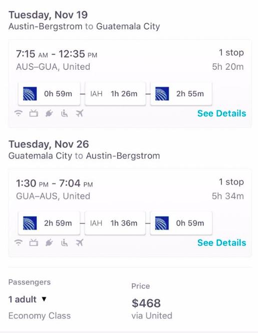 Flights to Match