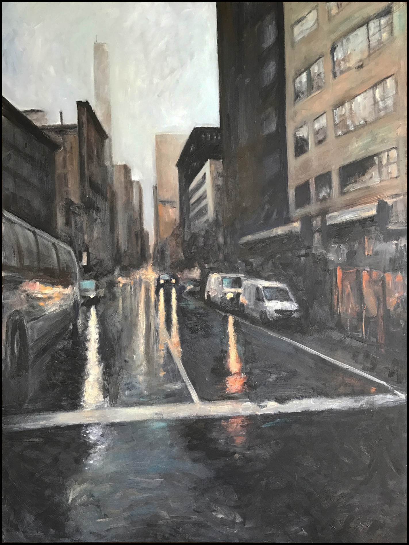 "NEW YORK II  36"" X 48"""
