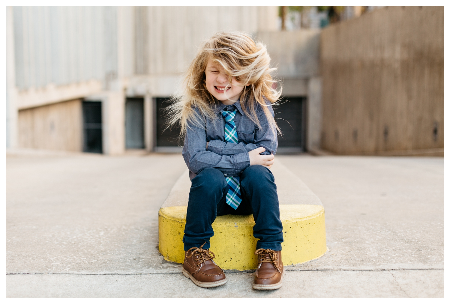 Boy Swings Long Blonde Hair Orlando Photographer Kids Session.jpg