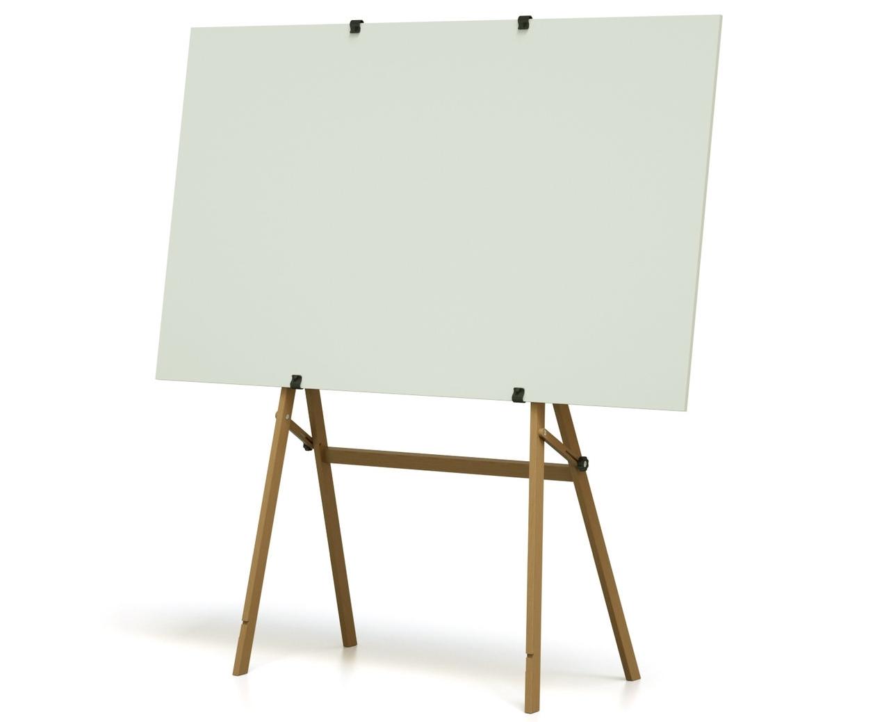 Flexibles, mobiles Whiteboard und Pinboard oder Flipchart auf Rollen ausgezeichnet mit Design Preis