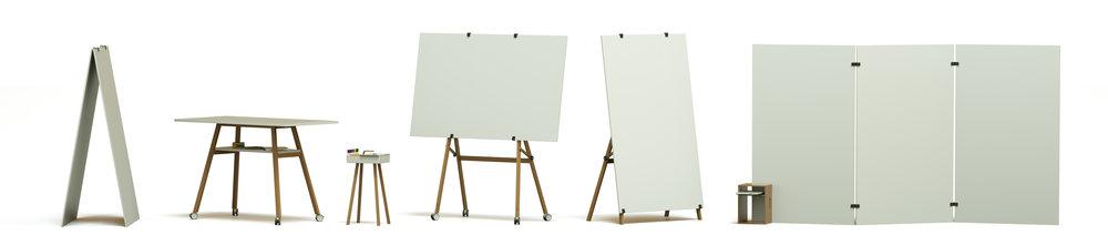 DesignThinking Workshop Whiteboard