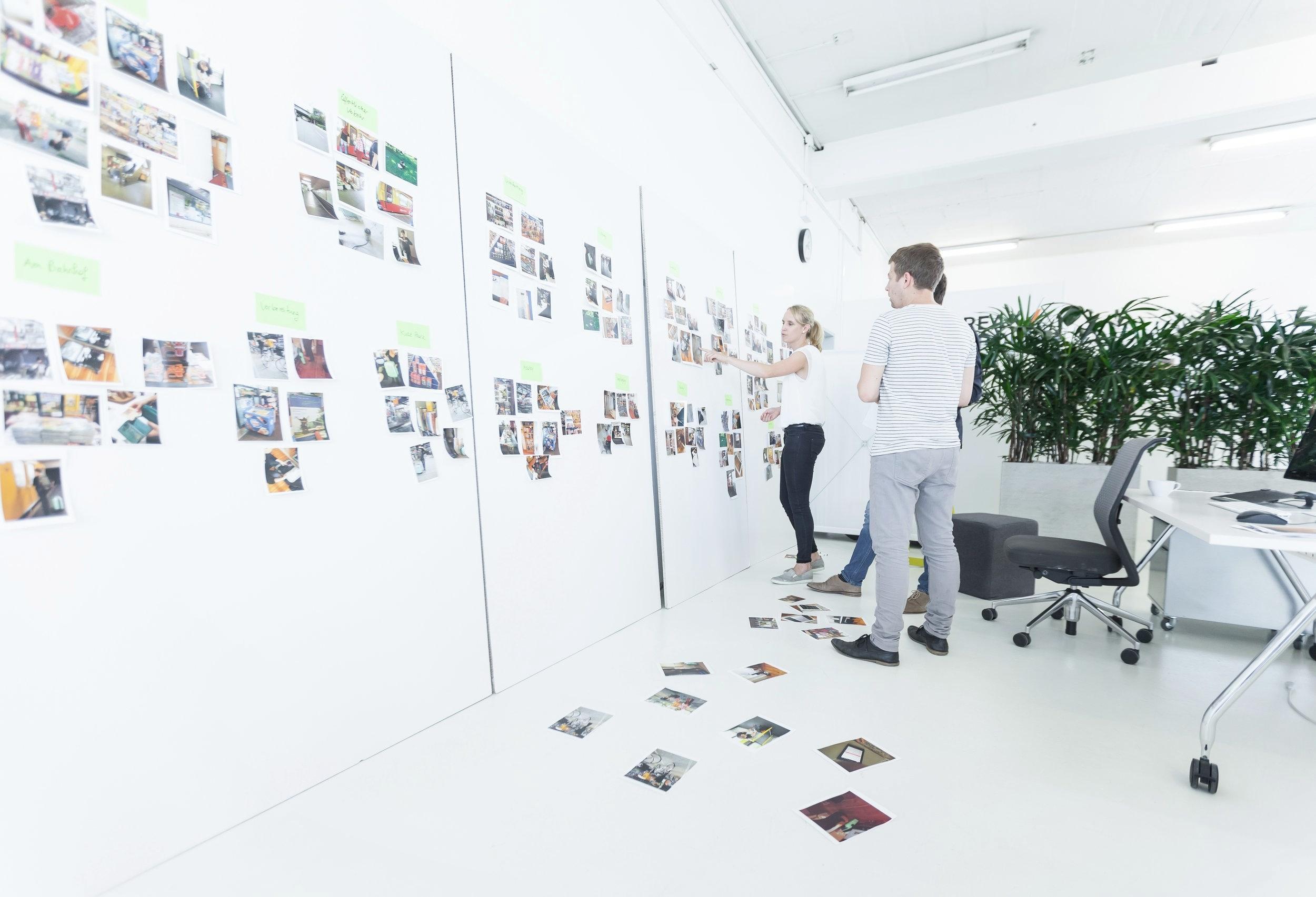 Award Winning Design Thinking Whiteboard