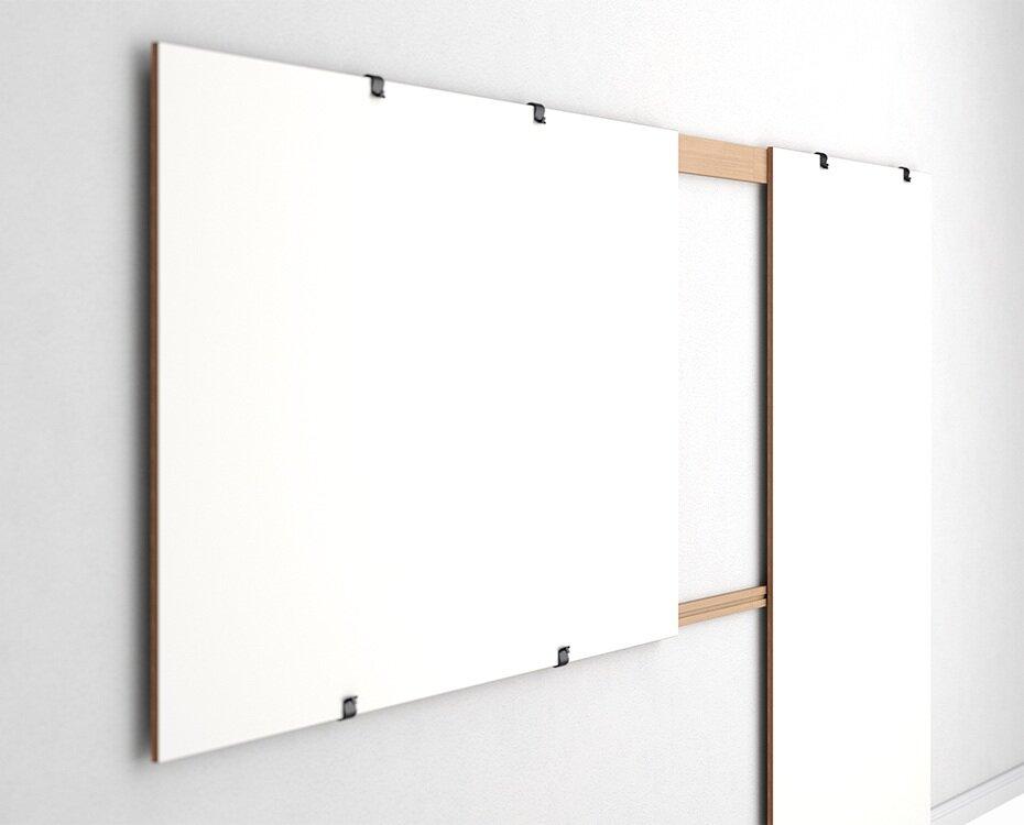 Einfache und präzise Montage von Whiteboards