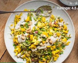 Cashew Cauliflower Salad
