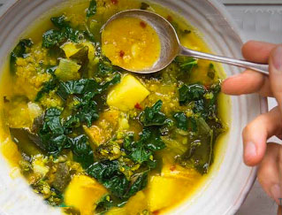 Yellow Green Soup