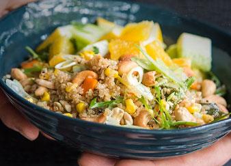 Cashew, Corn + Quinoa