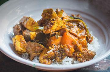 Tamarind Tofu Curry