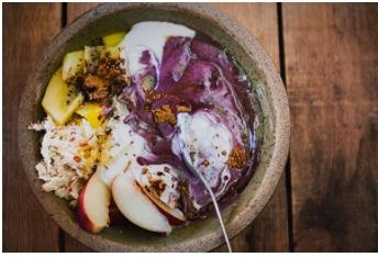 Blueberry Turmeric Bowl