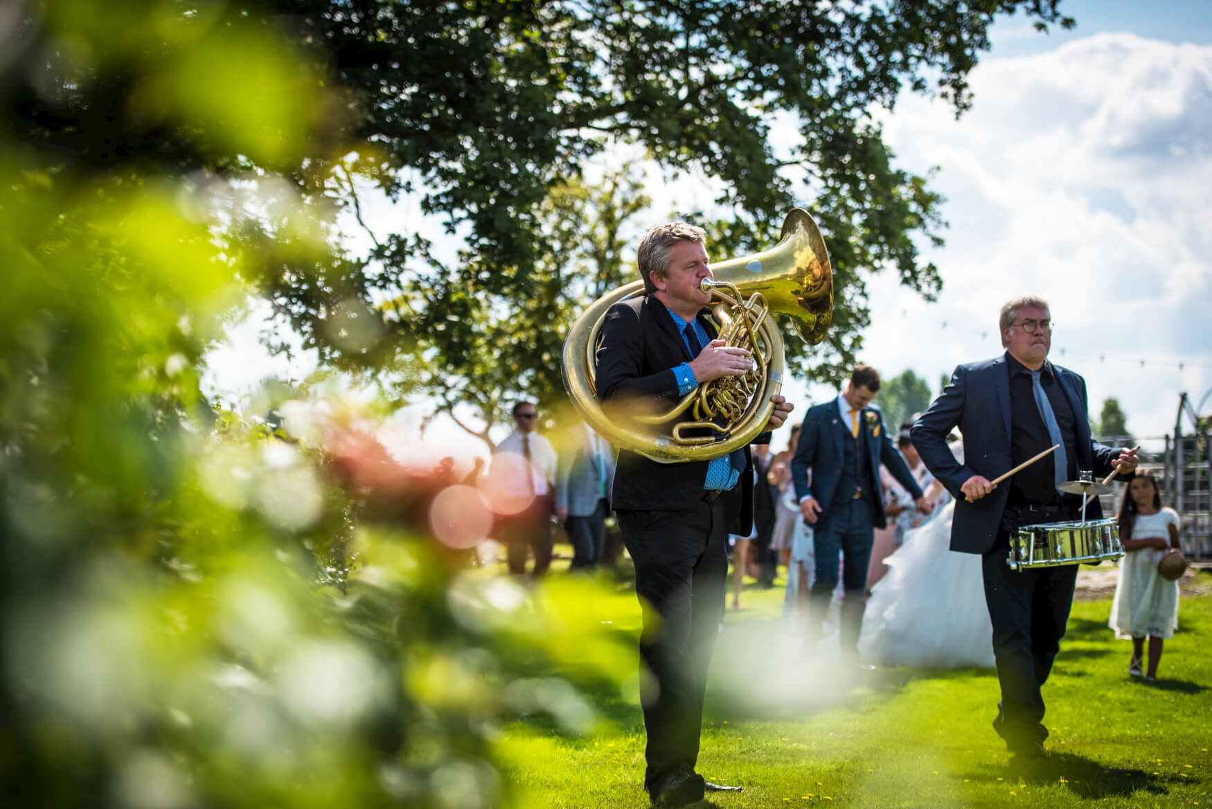 brassjunkies-sousaphone-drums-groom-happy-TheOakGroveWeddingPhotography-249.jpg