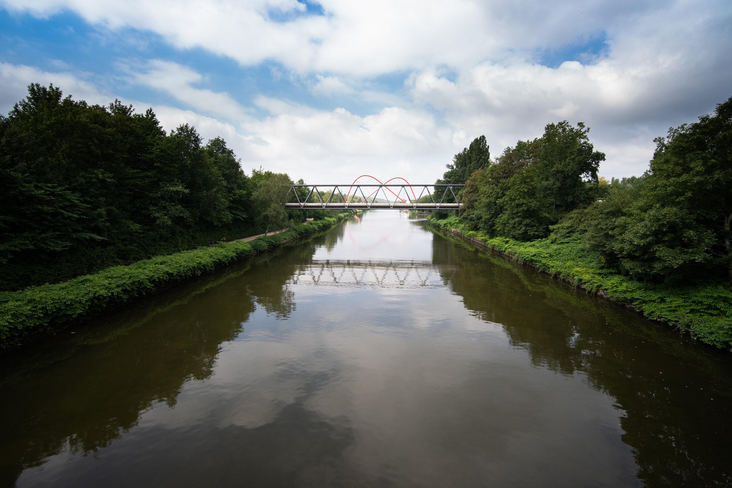 Rhein-Herne Kanal am Nordsternpark, Gelsenkirchen