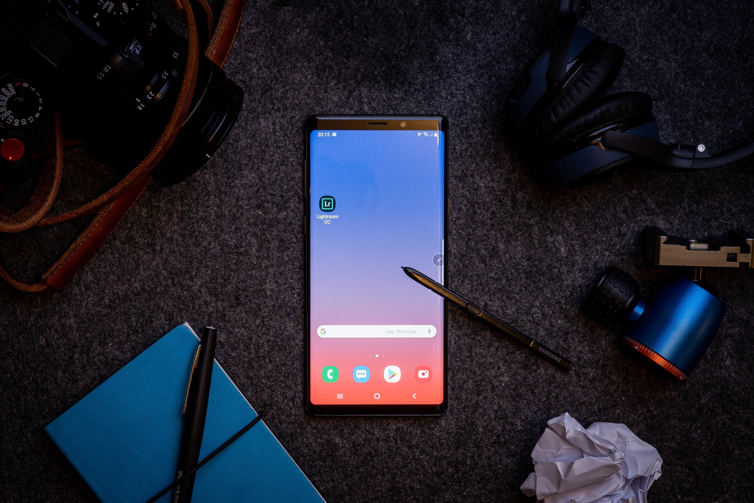 Das Samsung Note 9 - aus der Sicht eines Fotografen