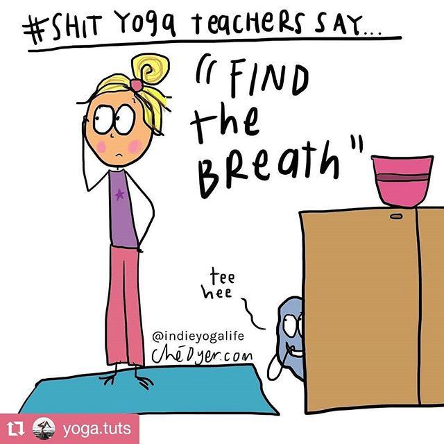 Just few of the #weirdthings we #yogateachers say. 🤣 . I totally say all four of them. Anyone else? 🖐 . I am curious: what do you #yogastudents think when you hear them? 🤔 . #shityogateacherssay #Eliyoga #funnysaying #yogateacherslife #feelingsilly #findyourbreath #melting #entrepreneurialyogi #yogini #canyouunderstandme #shitwesay