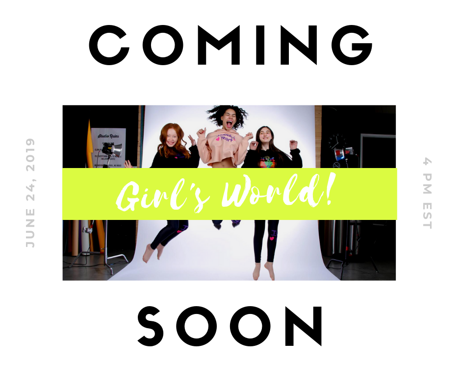 Girl's World Coming Soon