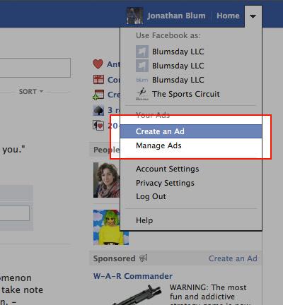 Det er enkelt å annonsere på Facebook. Du kan f.eks. leke med 100kr, og se hvor mange som får se bildet som du velger å annonsere.