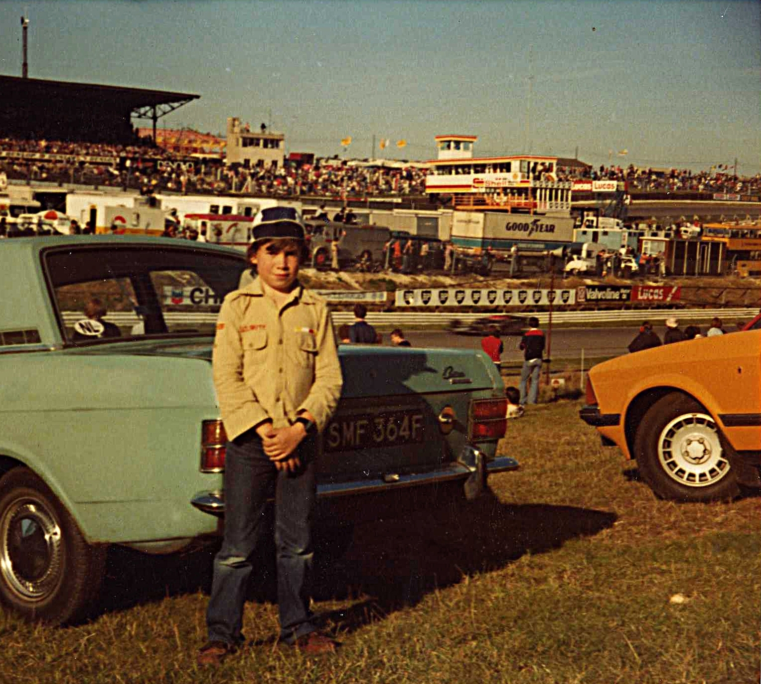 1978 Indy Trophy at Brands Hatch, on the South Bank.