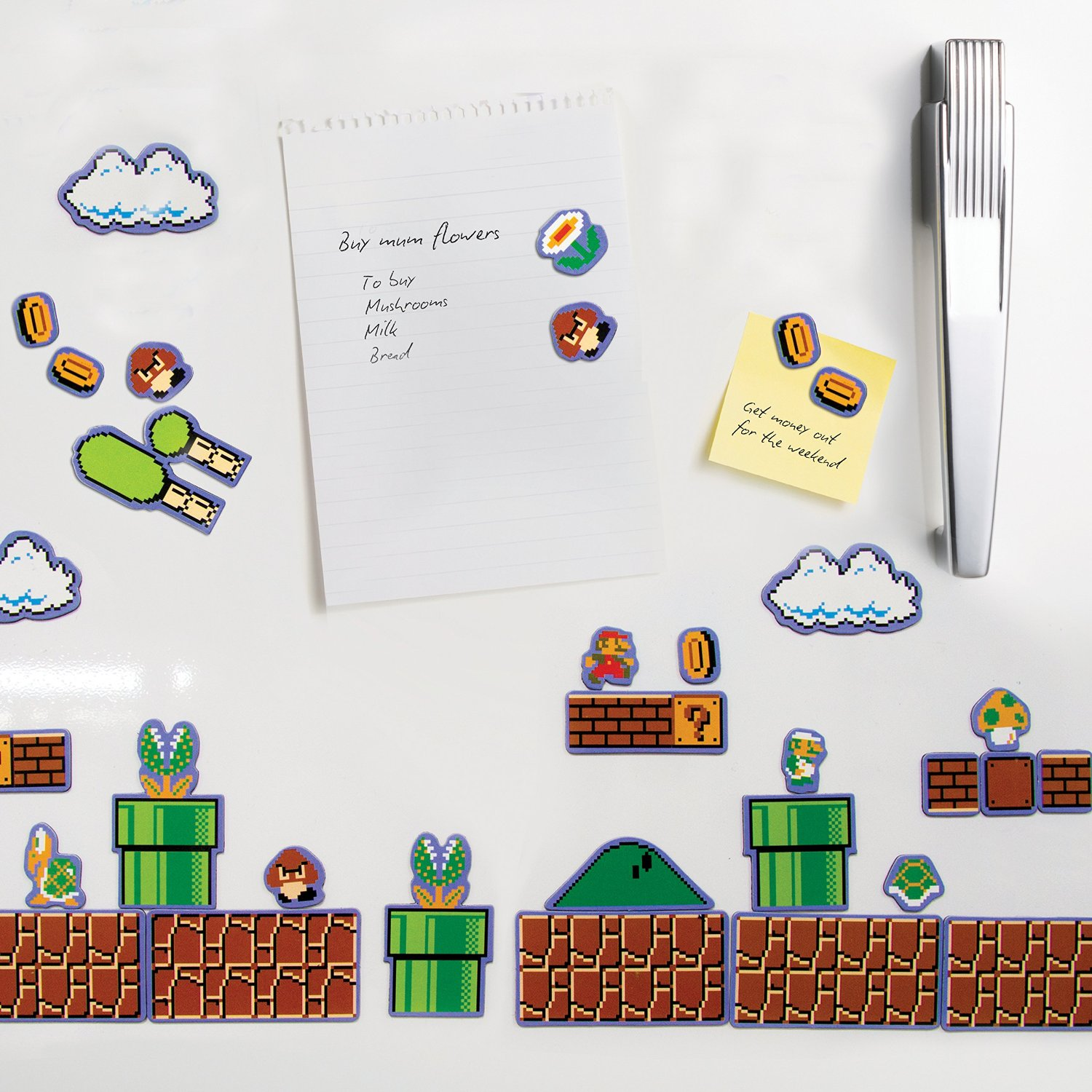 Super Mario Bros. Magnet Set £4.99