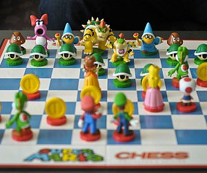Super Mario Chess Game £38.99