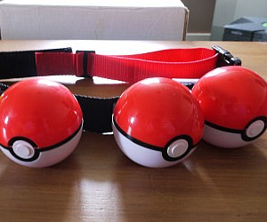 Pokeball Belt £24.99